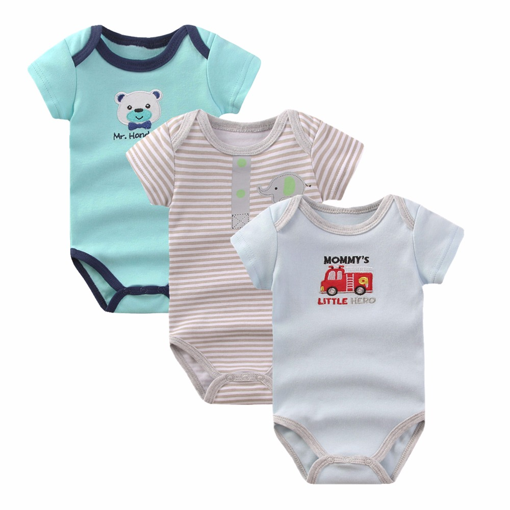 Baby Boy Rompers Clothing 2017 Summer Short Sleeves Newborn Girl Next 100% Cotton Body Bebes Menina Baby Jumpsuit Clothes R-01 newborn baby rompers baby clothing 100% cotton infant jumpsuit ropa bebe long sleeve girl boys rompers costumes baby romper