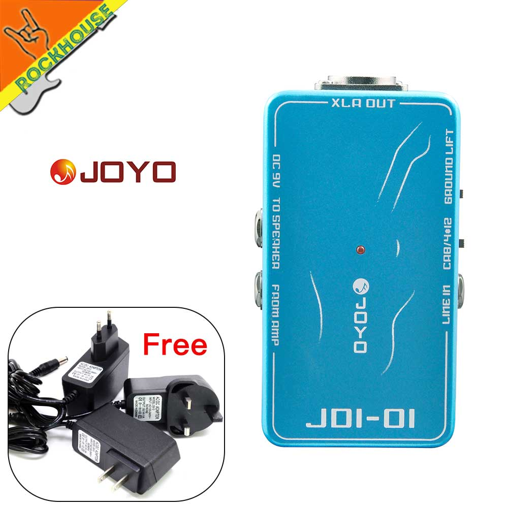 JOYO DI Box Passive Direct Injection Box Guitar Effects Pedal Unbalanced to Balanced signal output to Sound System Free Shipping rfn20 rfn20ns3sw to 263