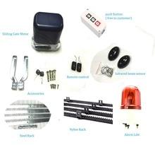 Авто дистанционного управления электрический автоматические ворота двигателя домашней автоматизации ворот инженерно полный комплект для портал с 4 м передач стойки