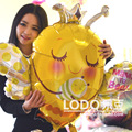 1 pieces Big Foil Balloon Bumblebee Marriage Decoration anagram Cartoon balloons aluminum foil bee size 83*81cm