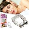 5 Pçs/lote Silicone Magnética Anti Snore Parar Ronco Clipe Nasal Dispositivo de Apnéia Do Sono Dormir Ajuda Tray Noite Guarda com Caso clipe