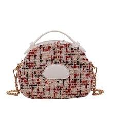 Metal Women Tote Bags Retro Crossbody Messenger Bag Mini Handbags Luxury  Shoulder Bag Vintage Chains Messenger Bag Sac A Main