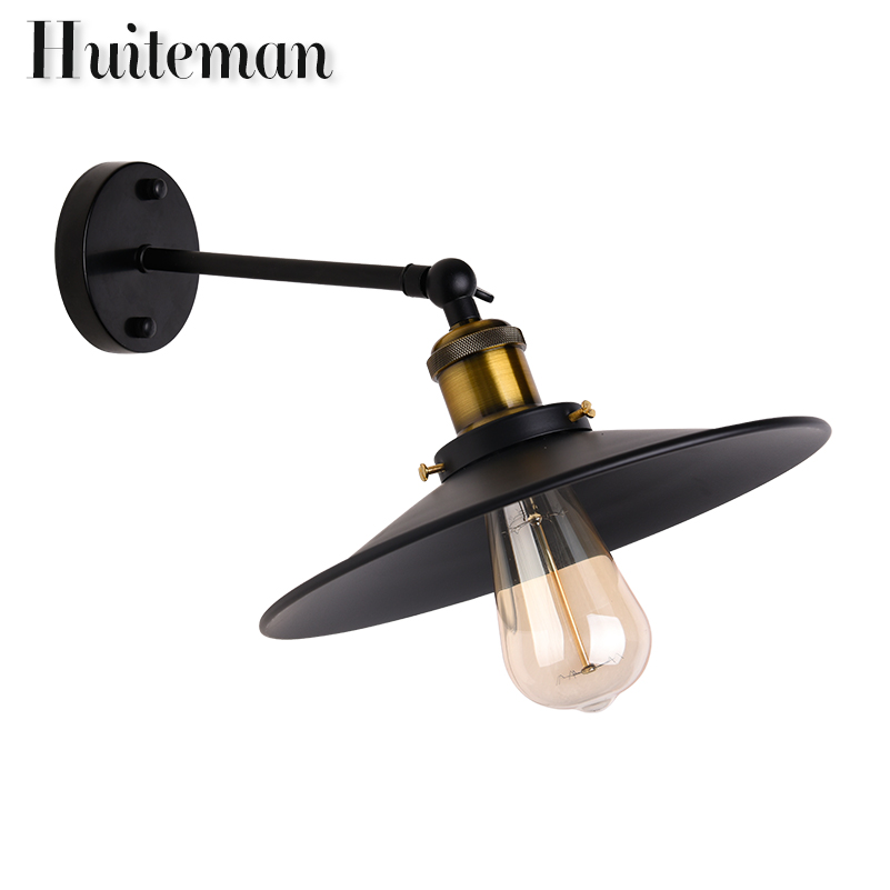 vintage wall lamp indoor lighting bedside lamps wall lights for home 110V/220V E27 Iron wall light for Bar Cafe Home Lighting vintage wall lamp indoor lighting bedside lamps wall lights for home