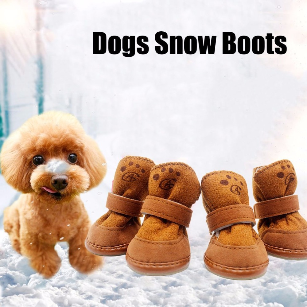 Extraordinary Dogs Snow Boots Winter Warm Soft Cashmere Walking Running Paws Dogshoes Anti Skid Puppy Pets Dog Shoes From Home Dogs Snow Boots Winter Warm Soft Cashmere Walking Running bark post Dog Snow Boots