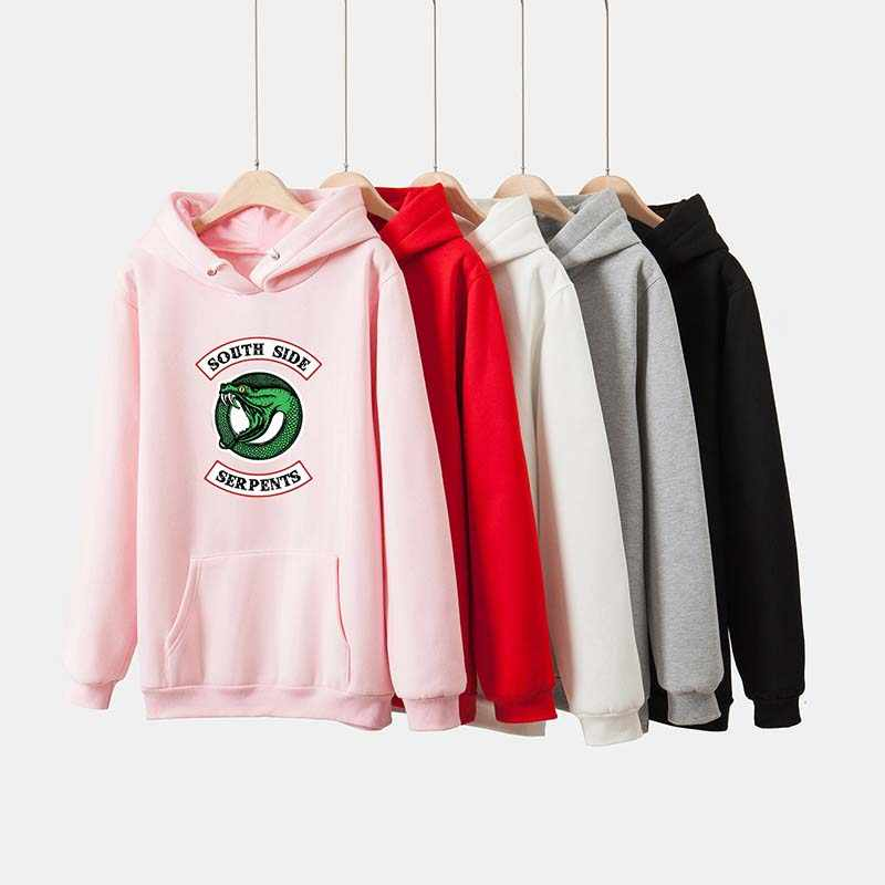 2019 riverdale Surrounding Hoodie men/women River Valley Town Couple Hooded Sweatshirt Brand Casual jacket mens clothes