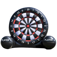 Free Shipping Free Blower Inflatable Dart Board Game 2m/3m/4m Football Dart/Soccer Dart For Outdoor Games With Cheap Price