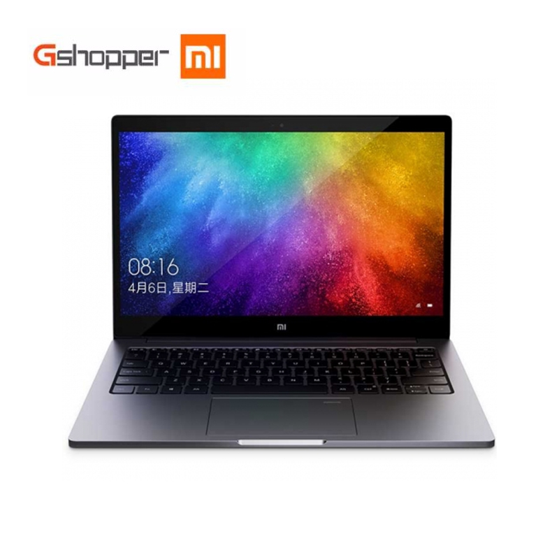 Original 13.3 Polegada Xiaomi Mi Ar Notebook Quad-Core Versão Melhorada de Reconhecimento de Impressões Digitais Intel i5-8250U CPU Windows 10