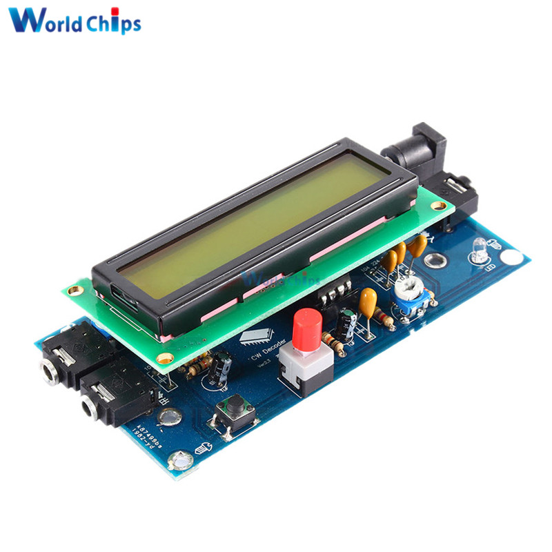 Integrated Circuits Back To Search Resultselectronic Components & Supplies Candid Ham Radio Essential Cw Decoder Morse Code Reader Morse Code Translator Ham Radio Accessory Dc7-12v 500ma With Top Quality