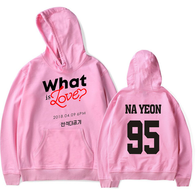 TWICE WHAT IS LOVE HOODIE (6 VARIAN)