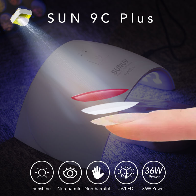 Sexy Mix 36W Nail UV Lamp for Drying Nail Professional Nail Polish Dryer Machine Hot UV LED Light Dryer SUN9C Plus