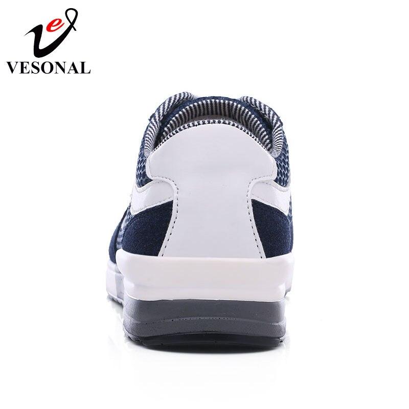 Automne Hommes Vesonal 9018 Maille Pour Sneakers Respirant Mâle Blue Printemps Qualité gray red Chaussures Casual Confortable Marque Marche 2018 SSCqx8w6
