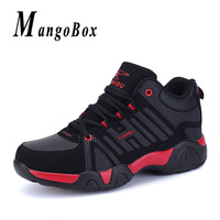 Couples Shoes Basketball Red White Training Shoes Comfortable Big Size 45 46 47 48 Shoes with Fur Male Women Sneakers Basketball