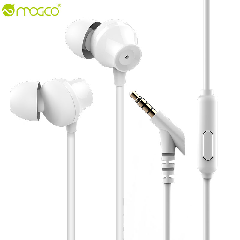 Original MOGCO M11 In Ear Earphone Bass Earbuds Stereo Earphones With Microphone HIFI Headsets Rock Auriculares For MP3 Phones kz ed8m earphone 3 5mm jack hifi earphones in ear headphones with microphone hands free auricolare for phone auriculares sport