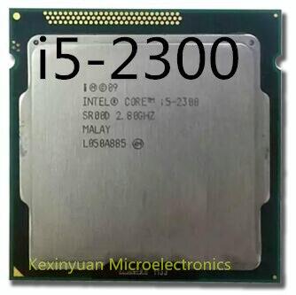 Intel Core I5-2300 Cpu I5 2300 Processor Socket LGA 1155 2.8 GHz 6 MB Cache