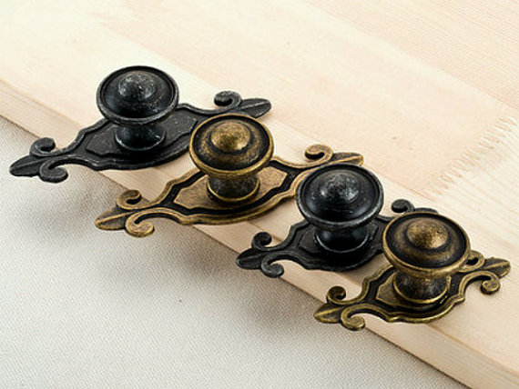 kitchen cabinets knobs or pulls antique black bronze dresser knobs drawer handles 20681