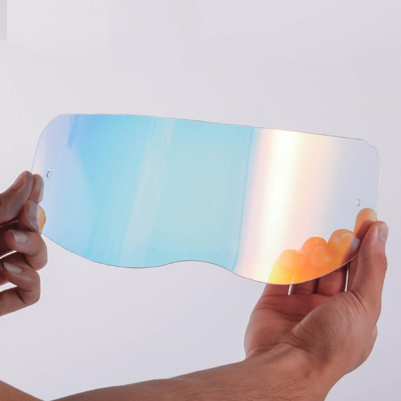 Predator motorcycle helmet lens Glass replacement shield for THH predator helmets transparent gold black visor