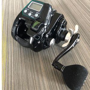 Image 5 - جديد ecooda EZH3000 EZH5000 بكرة كهربائية لصيد الأسماك قارب صيد الأسماك بكرة صيد للمياه المالحة المحيط بكرة صيد أسود 11 محمل