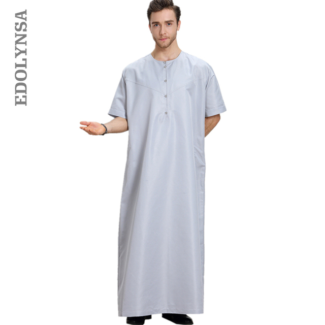 Muslim Fashion Men S Clothing Accessories 2019 Men Robe Kaftan