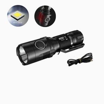 Nitecore MH20GT LED Flaslhight Cree XP-L HI V3 1000 Lümen USB Şarj Edilebilir EDC El Feneri El Feneri