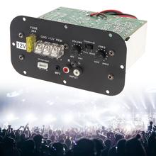 12V 150W płyta wzmacniacza Bass Subwoofer samochodowy sprzęt Audio wzmacniacz wysokiej mocy płyta wzmacniacza czarny z niebieskim światłem dla 6 8 10 Cal Subwoofer samochodowy tanie tanio AOVEISE 4ohm EPC_CAU_11Z Stereo 120W 89db 40Hz-200KHz Metal Wzmacniacze 0 51kg Amplifier Board Black sound amplifier amplificador