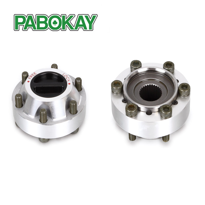 2 pieces x FOR NISSAN Patrol MK MQ P40 80 89 manual free wheel locking hubs