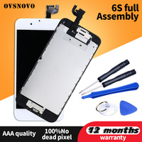 Complete Full Set LCD For iPhone 6S Display Touch Screen Assembly Replacement For iPhone 6 6s plus+Home Button&Camera