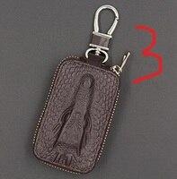 Crocodile car key bag unisex key bag set Crocodile pattern key bag simple large capacity