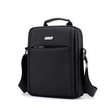 Male Messenger Bags Men's Small Flap Shoulder Bag Waterproof Nylon Black Casual Travel Crossbody Bag For Men 2018 New Arrival стоимость