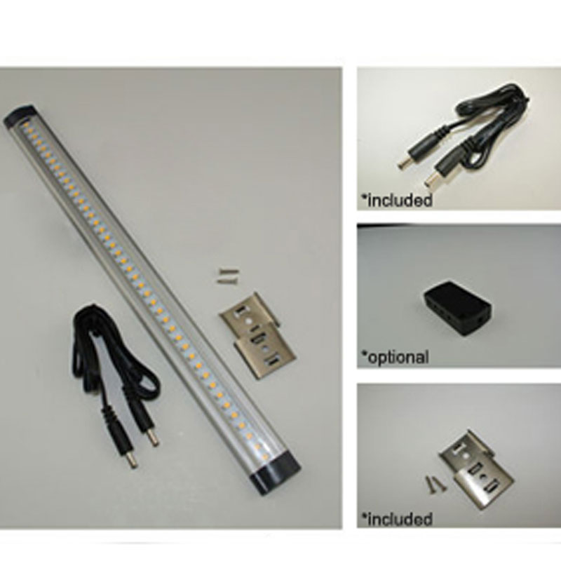 Buy Linear Lamp 12v 3w Led Under Cabinet Lighting Aluminum Armario Tube  Lights In Kitchen Cupboard Ce Rohs 6pcslot From