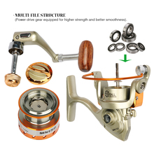 Goture Metal Spool Mini Fishing Reel 5.5:1 Fishing Cheap Spinning Reels China for Summer Fishing