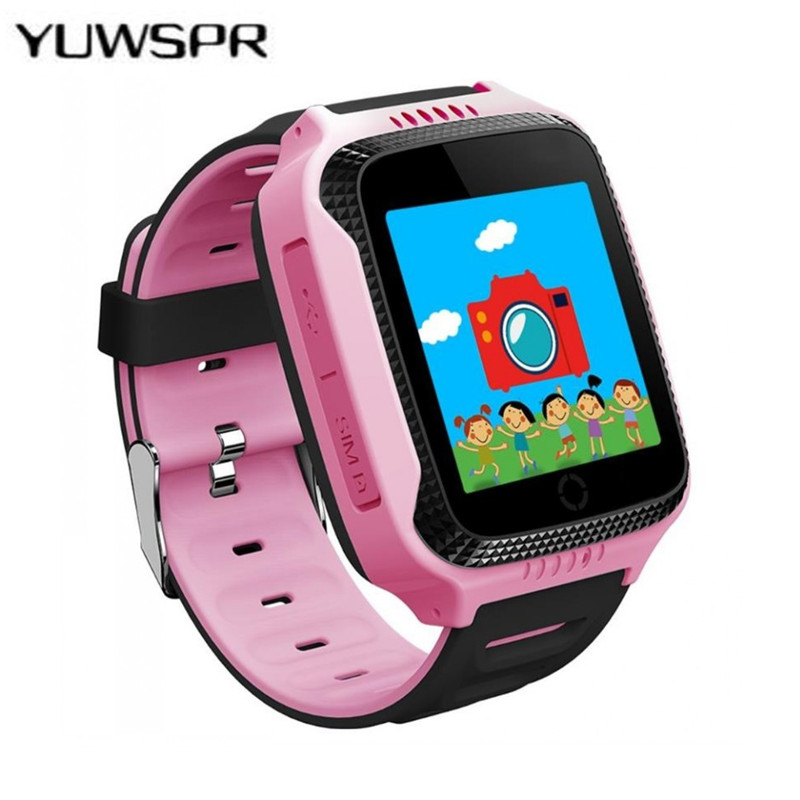 Tracking-Watch Q528 Smart Kids Hot GPS for Flashlight-Camera Baby Watches Touch-Screen