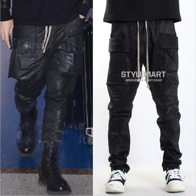 Clothing Trousers Harem-Pants Pocket Plus-Size Men's Fashion New Singer 27-44 Big GD