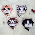 Coin purse 2016 Small Tail Cat Coin Purse Cute Kids Cartoon Wallet Kawaii Bag Coin Pouch Children Purse Holder Women handbag