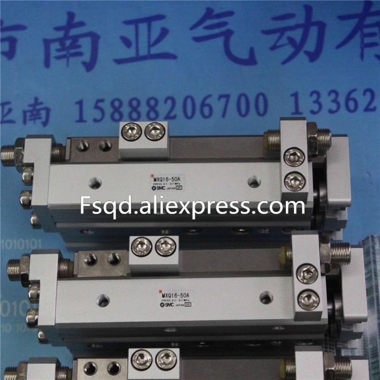 MXQ16-50 MXQ16-75 MXQ16-100 MXQ16-125 SMC air slide table cylinder pneumatic component MXQ series su63 100 s airtac air cylinder pneumatic component air tools su series