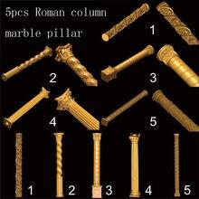 5pcs Roman column 3D STL model for carved figure cnc machine Router Engraver ArtCam marble pillar Model design цена 2017