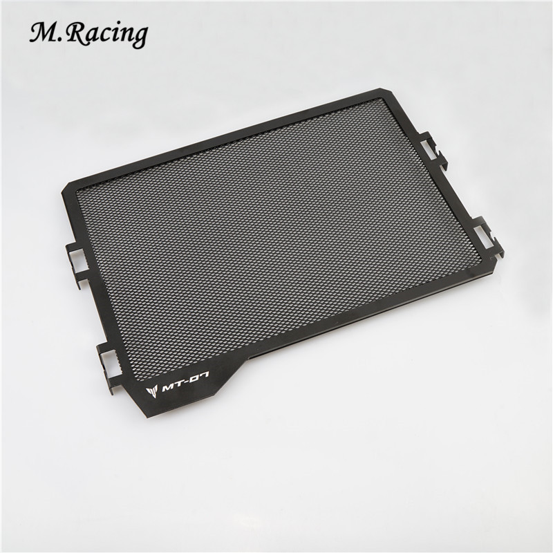 Motorcycle Aluminum Radiator Guard Cover Grill Guard For MT 07 MT07 FZ-07 FZ07 Simple