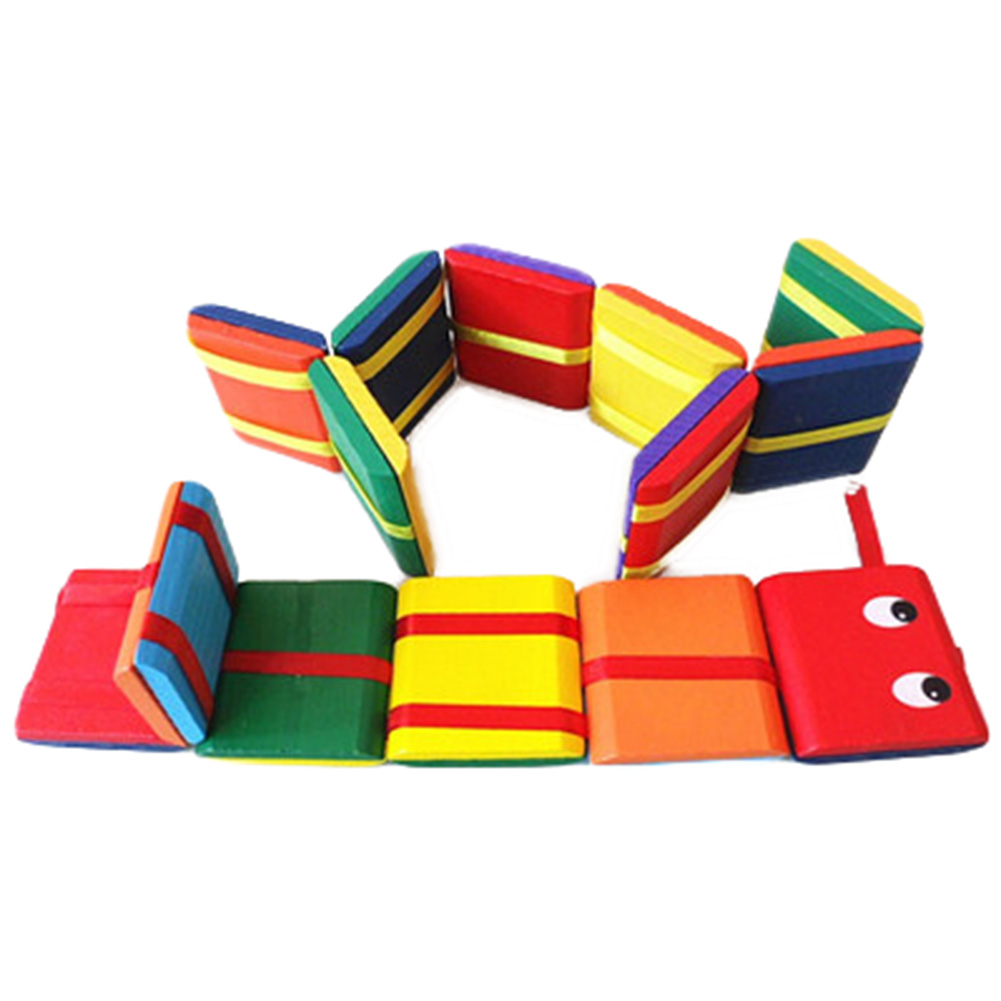 2017 Classic wooden toys 8 pieces of colorful flap game yo board toys hand-eye coordination Intelligence Educational Toy