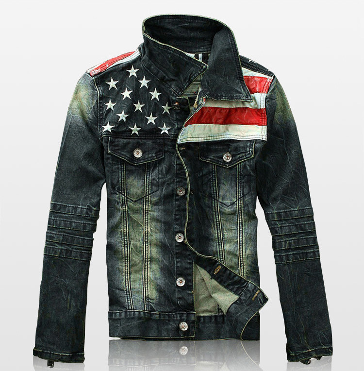 Popular Leather Jean Jacket Men-Buy Cheap Leather Jean Jacket Men