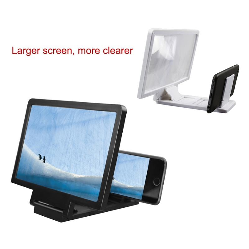 Eyes Protection Holder Wholesale Magnifying Glass HD Stand 3D Screen Amplifier Mobile Phone