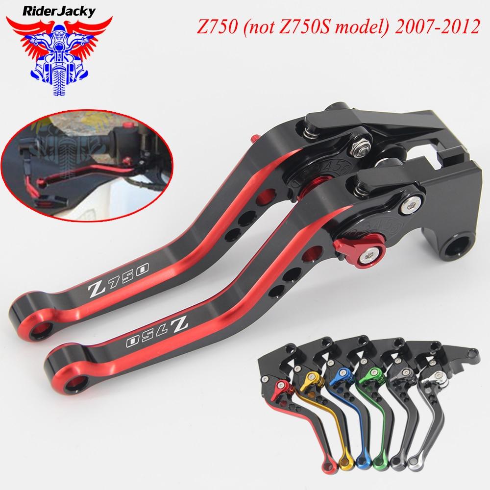 For Kawasaki z750 2004-2006 Z750S 2005-2008 Long CNC Clutch Brake Levers Adjust