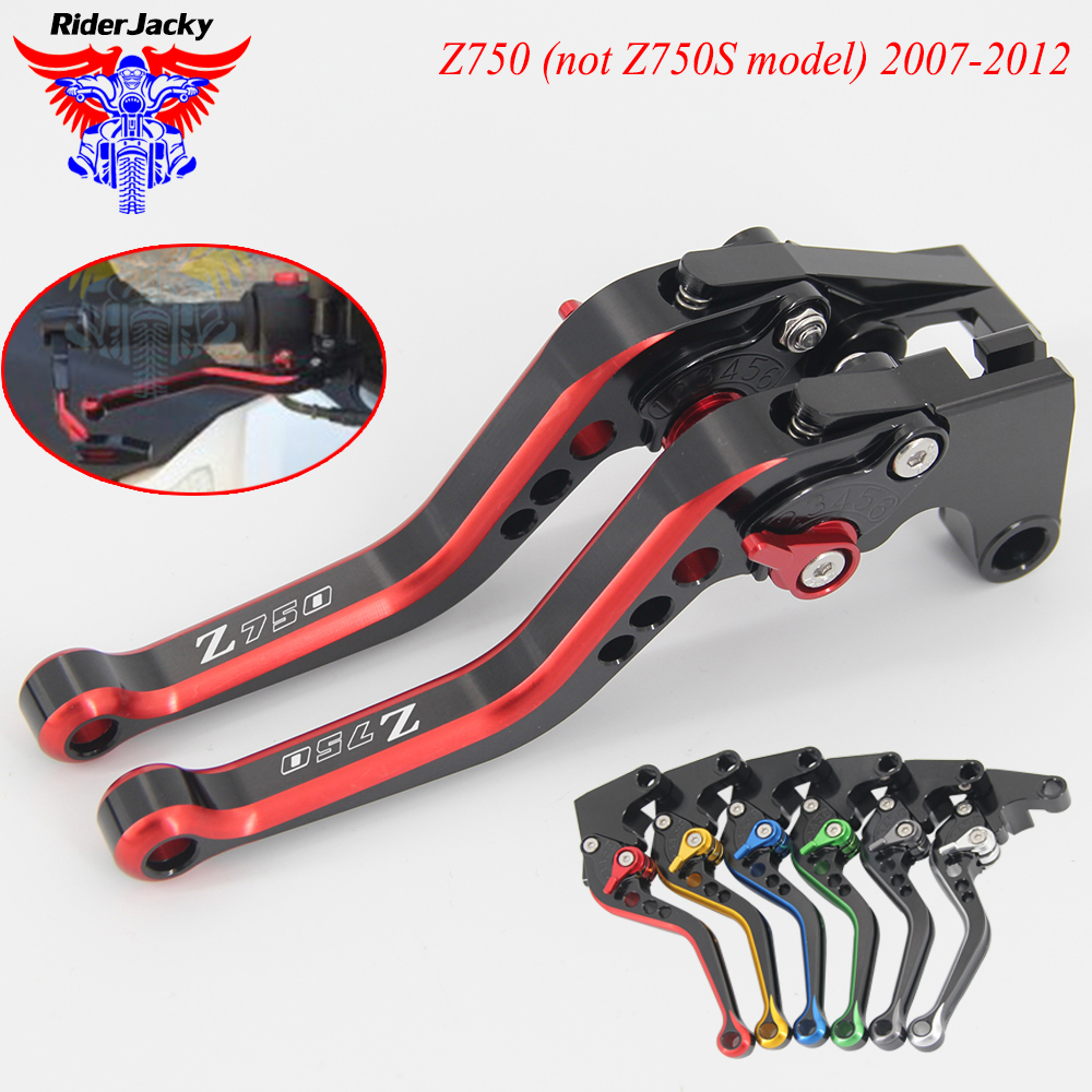 MIX Color 147MM Adjustable Short Motorcycle Brake Clutch Lever For Kawasaki Z 750 Z750 (not Z750S model) 2007-2012 2010 2011 09MIX Color 147MM Adjustable Short Motorcycle Brake Clutch Lever For Kawasaki Z 750 Z750 (not Z750S model) 2007-2012 2010 2011 09