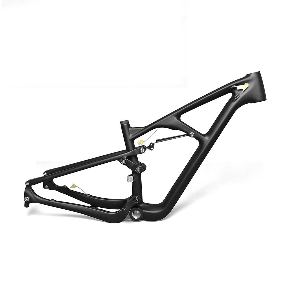 new 29er carbon fiber mtb bike frame mountain bike full suspension frame ud matt 15