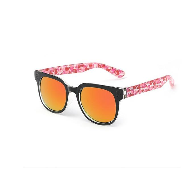 Óculos de Sol Das Mulheres Dos Homens marca Designer Floral Fronteira  Quadrado Personalidade Multicolor Lentes Óculos b5acaab0e3