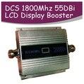 LCD Família 2G GSM DCS 1800 Mhz Celular 1800 telefone celular Repetidor de Sinal de Telefone Móvel Impulsionador Amplificador Enhancer capa 200m2