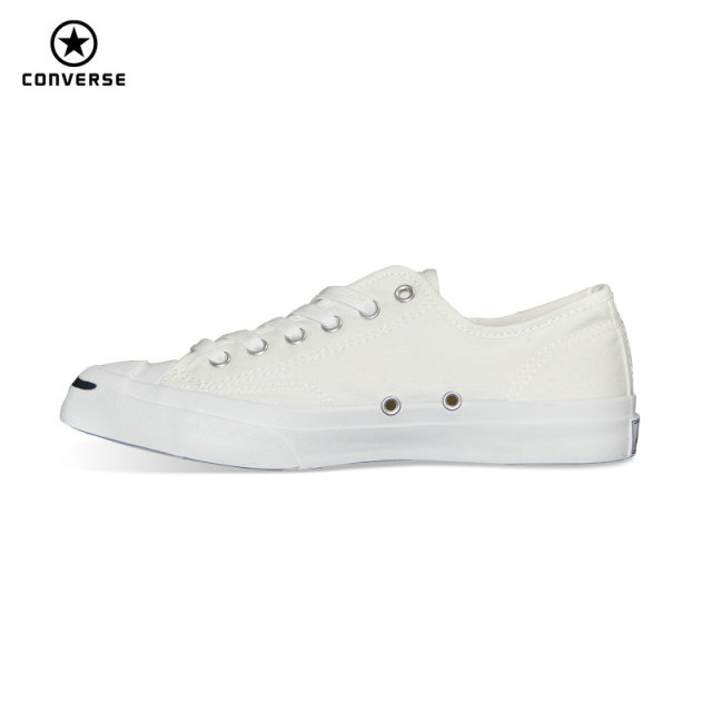 67e246614a5d Original Converse Canvas smiling face style JACK PURCELL sneakers Spring  summer man and women Skateboarding Shoes 1Q698