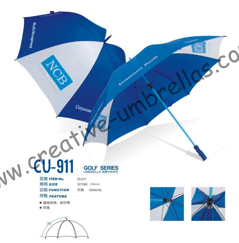 Free shipping by sea,190T polyester fabric 14mm metal shaft and ribs,hand open advertising promtoion golf umbrella,windproof