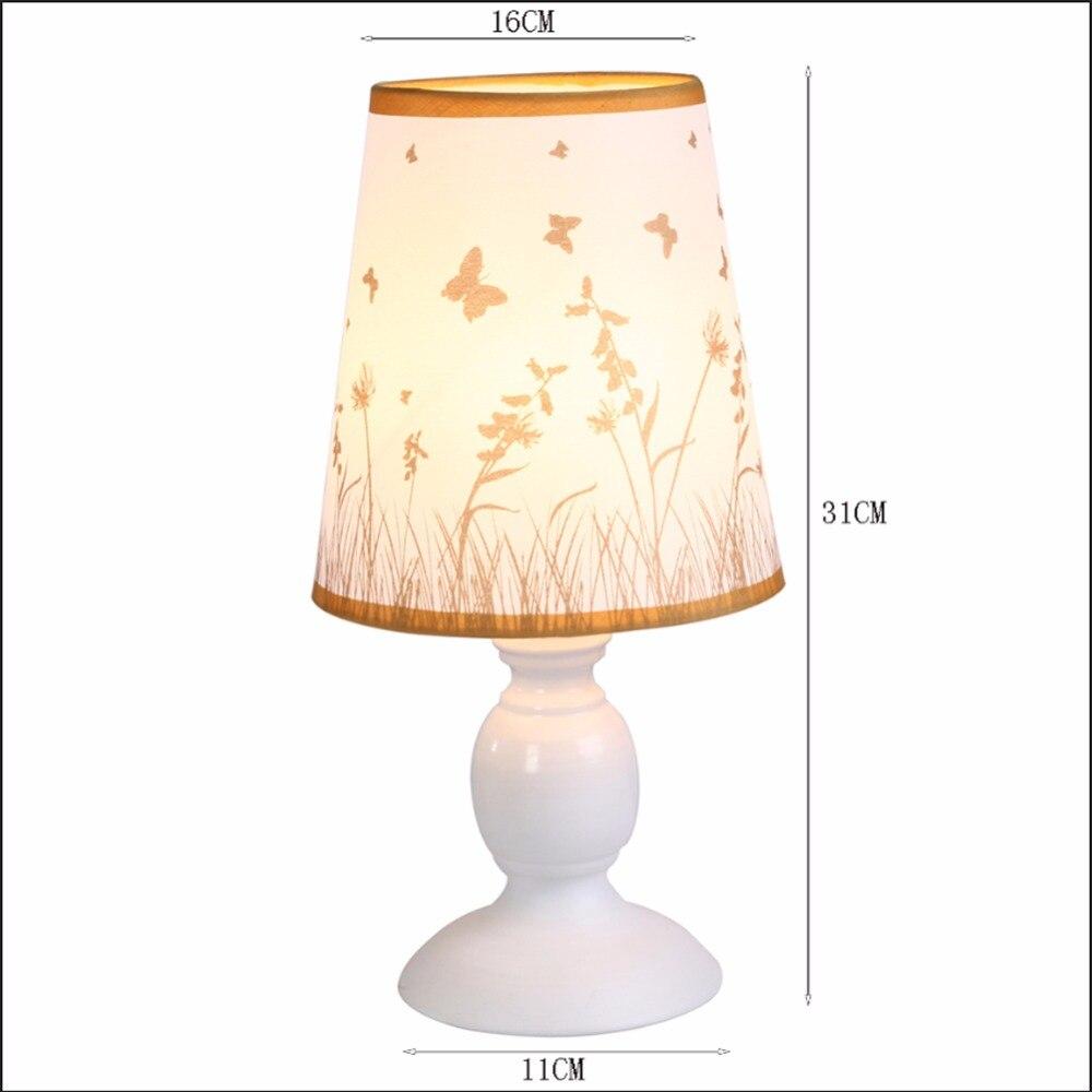 Hghomeart настольная лампа настольная кровать офис света лампы E27 Белый Настольная лампа переключатель ночники Освещение в помещении стол свет