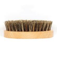 Новая натуральная деревянная щетка для бороды борода усов мужской