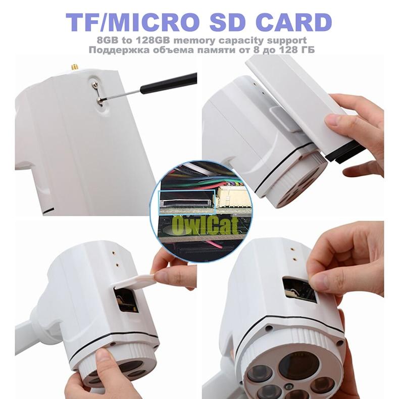 HD 1080P Bullet PTZ IP-камера Wi-Fi 5X 10X зум - Безопасность и защита - Фотография 3