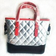 Для женщин из натуральной кожи ведро люксовый бренд квадратный полосатый мешок металлические цепи сумка Кроссбоди сумки